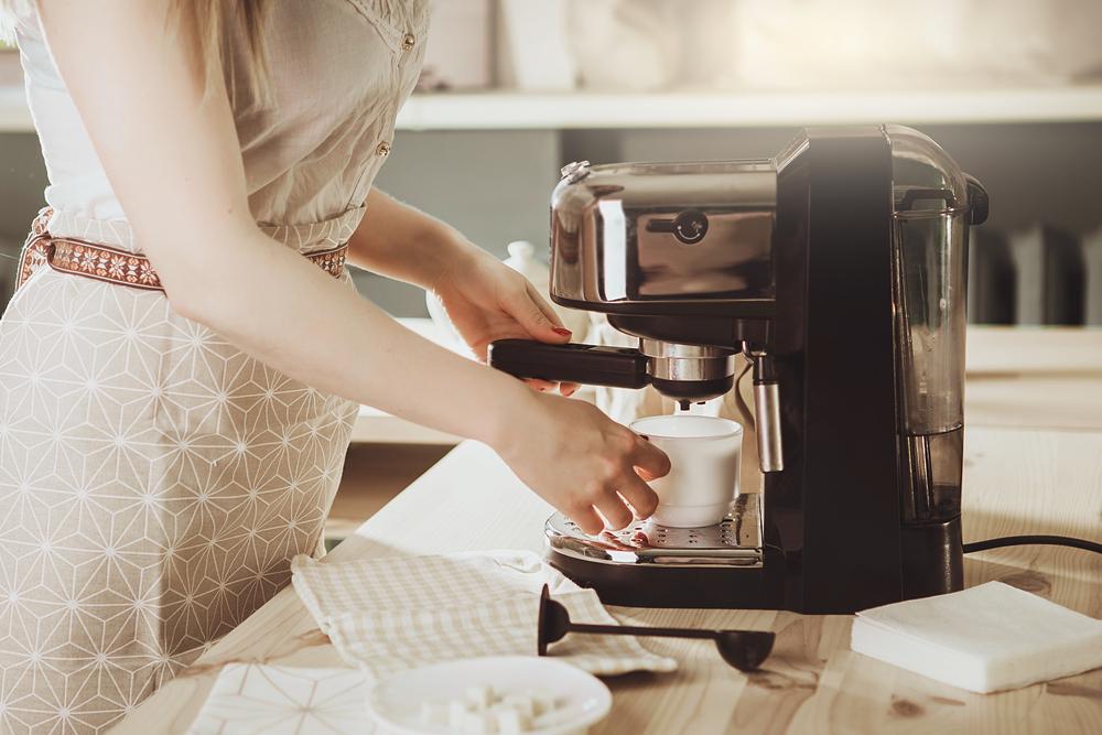 Kleine Espressomaschine für zuhause oder das Büro