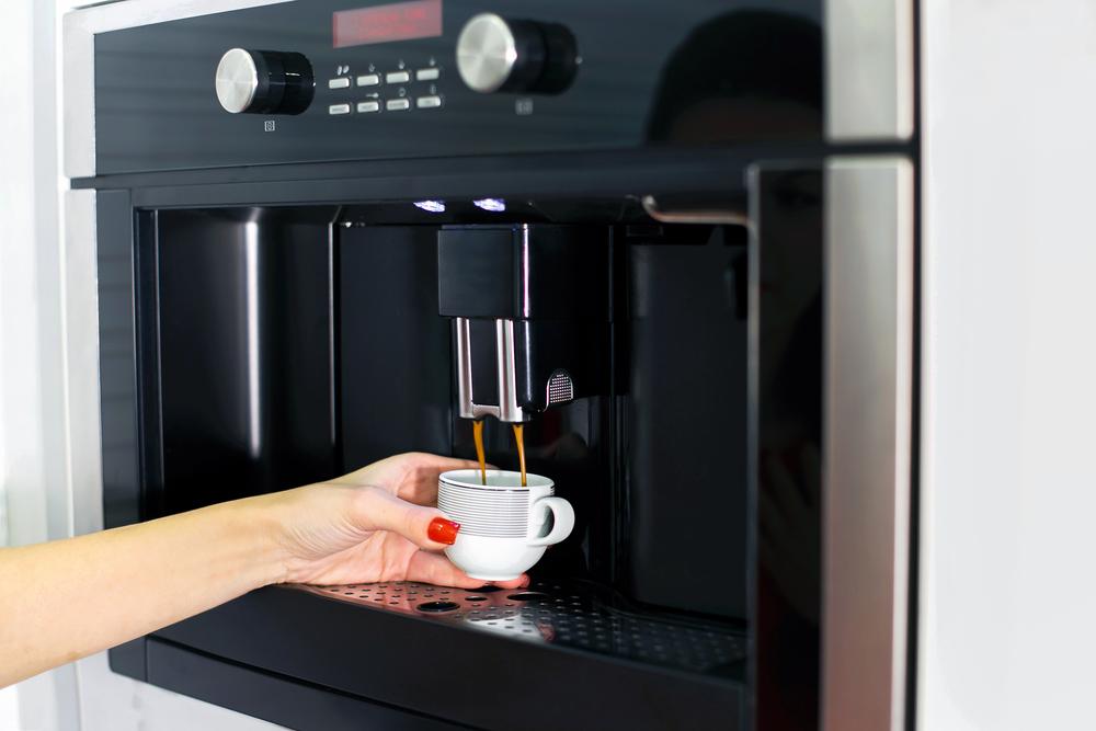 eleganter Kaffeevollautomat