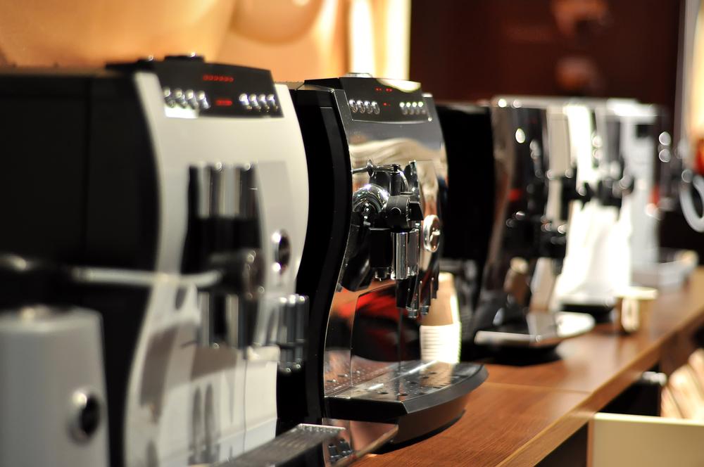 Große Auswahl an Kaffevollautomaten