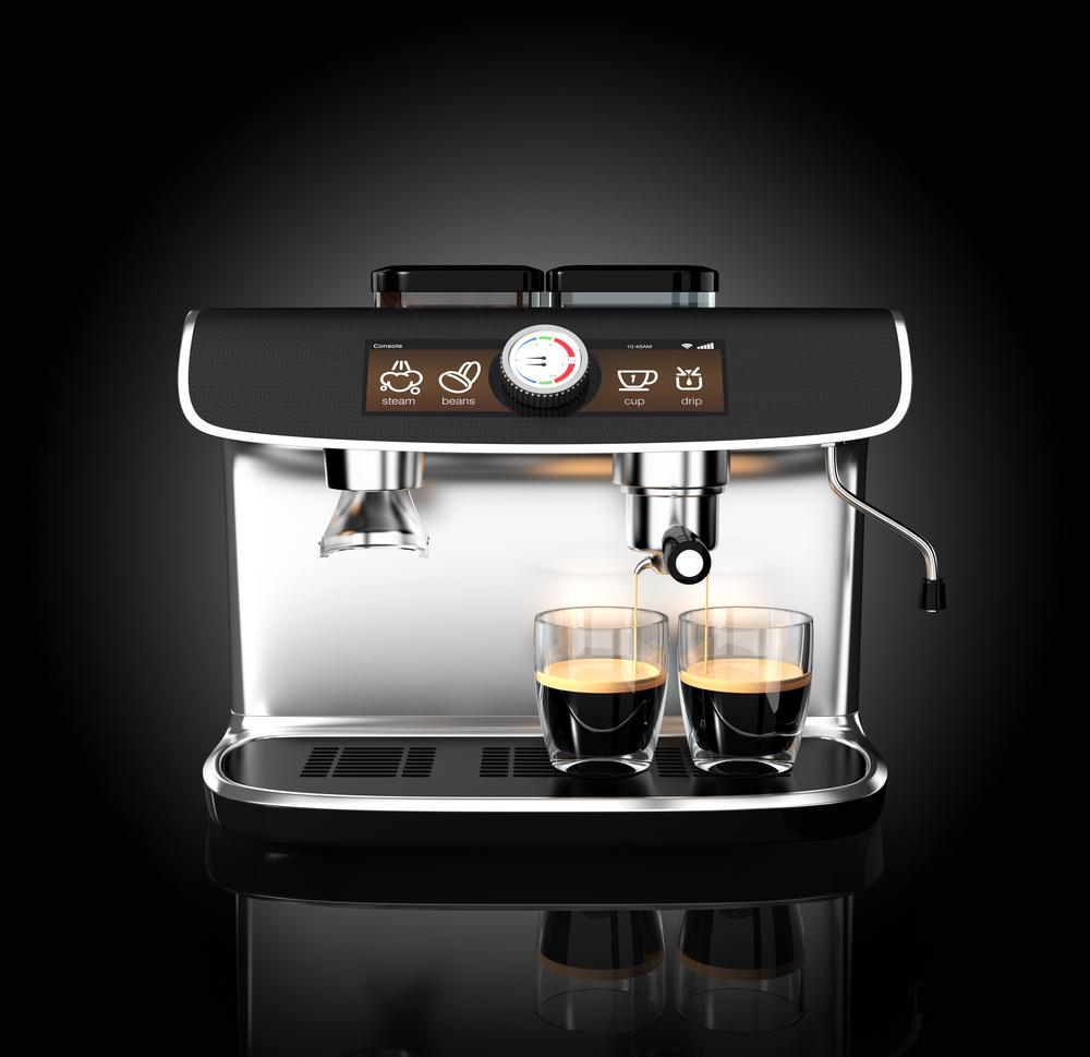 Kleine Espressomaschine für Privathaushalte